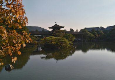 Dans les jardins du Heian-jingu
