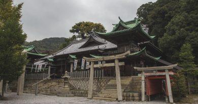 Koso Hachiman-gu : le sanctuaire des guerriers