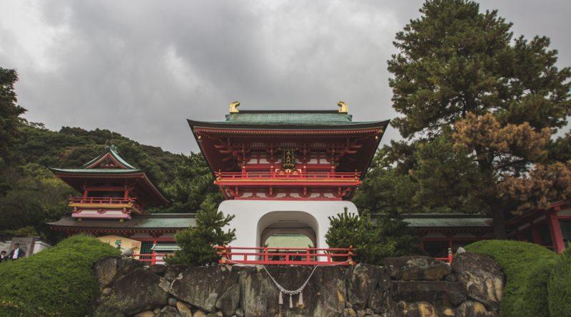 Akama Jingū : le sanctuaire impérial de Shimonoseki