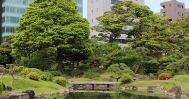 Le tour des jardins japonais depuis Shimbashi (itinéraire)