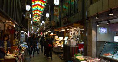 Promenade gourmande dans Kyoto