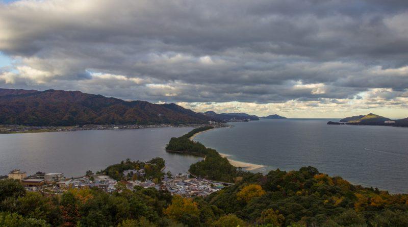 Amanohashidate, l'une des plus célèbres vues du japon