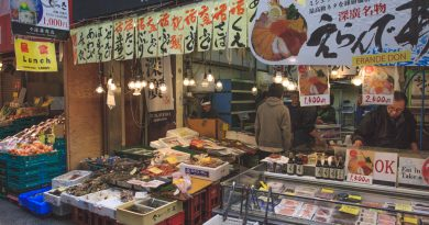Kuromon ichiba, le garde-manger d'Osaka